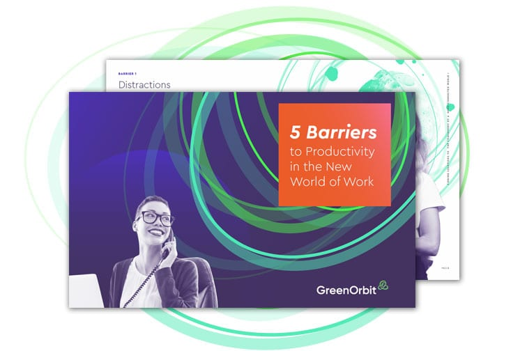 5 Barriers to productivity with GreenOrbit Intranet.