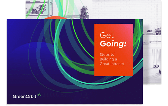 GreenOrbit's e-book: Steps to building a great intranet