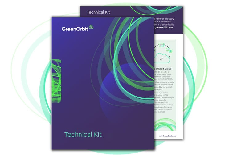 GreenOrbit Intranet Technical Kit pages.