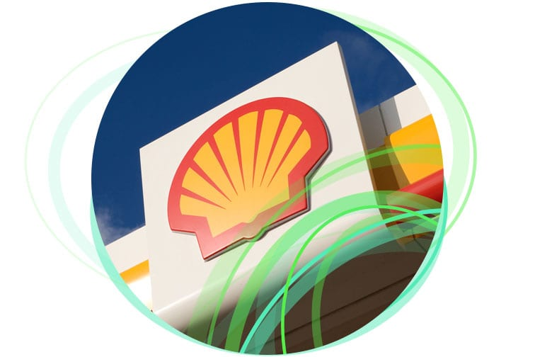 Shell logo with their intranet case study.